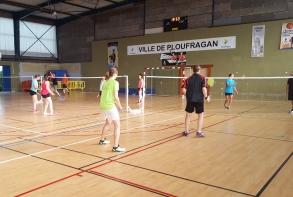 Tout l'été, badminton loisirs trois fois par semaine avec les Fous du volant !