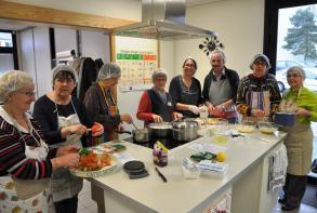 L'atelier le plaisir de la cuisine en mars 2015