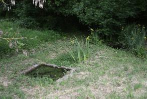 Entretien/désherbage du chemin des Castors, à Saint-Hervé