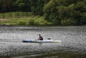 Mardi 14 juillet, activités nautiques au Pont-Noir par l'Aviron Club du Gouët
