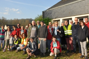 """70 personnes ont participé à cette randonnée découverte """"Au fil du Gouët"""" samedi 21 avril"""