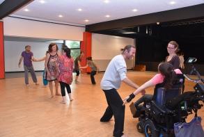 Début de Transe it ! Atelier danse avec Alban de la Blanchardière