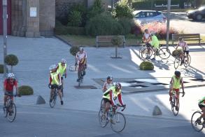 Tous les dimanches et jeudis, randonnée cyclotouriste avec le S.P. cyclos