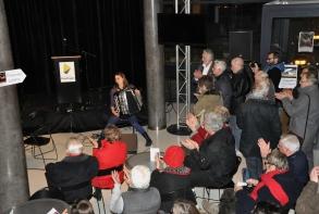 Intermède musical avec Céline Cortin