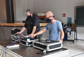 Pousse disques d'été, DJ set avec Phil& Fab, le vendredi 28 août