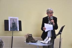 Marie-Françoise Duplenne, maire-adjointe, a lancé la Semaine bleue