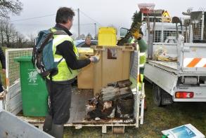 Résultat : 3 m3 de déchets ont été ramassés !