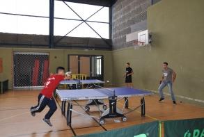 démonsration Tennis de table