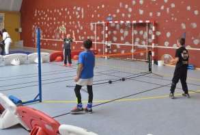 Initiation badminton
