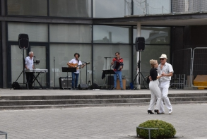 Vendredi 17 juillet, concert guinguette par des professeurs de l'école de musique du Centre culturel