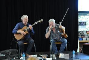 Duo celtique à la Médiathèque avec Gilles Le Bigot & Gerry O'Connor