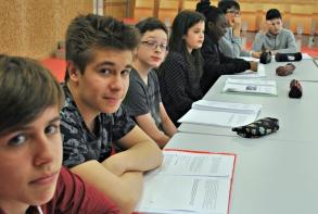 Les jeunes ont travaillé avec Lucien Morin sur le scénario