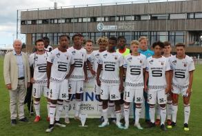 Le Stade rennais, finaliste, termine deuxième (photo : X. Bizot)