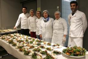 Final avec le repas-cabaret (repas kurde)..