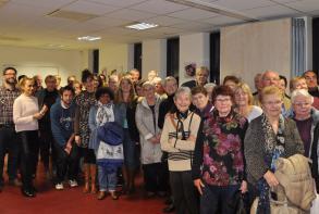 Le pot de remerciement aux bénévoles du tremplin en janvier 2016