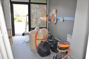 Salle Glenmor en chantier