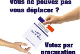Actualités vote par procuration