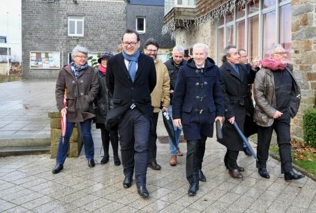 Actualité Visite du préfet à Ploufragan janvier 2017