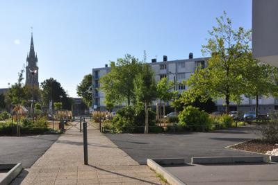 Social rénovation urbaine place d'Iroise