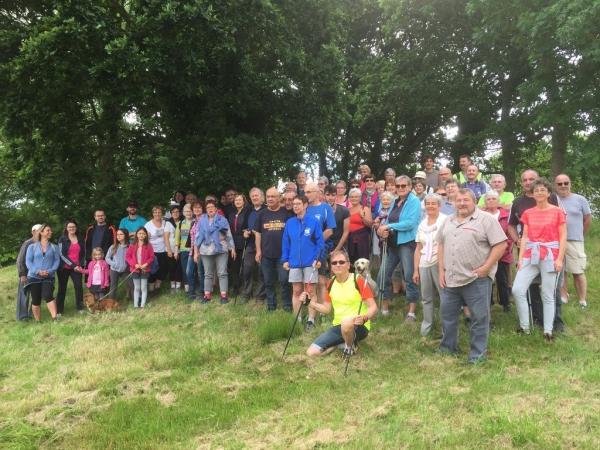 Quartiers Départ randonnée Ville au Beau 11 juin 2017