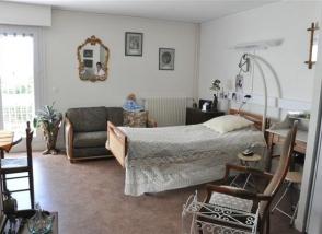 Une chambre à l'EHPAD Foyer d'Argoat
