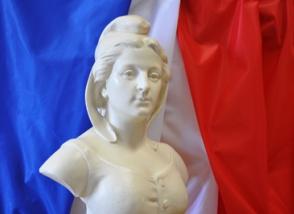 Conseil municipal buste de Marianne