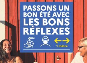 actualité affiche passons_un_bon_été juillet 2020