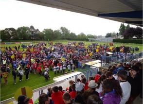 Manifestation sportive à Ploufragan