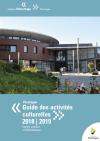 Couv guide activités culturelles 2018-19