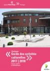 couv guide des activités culturelles 20117-18